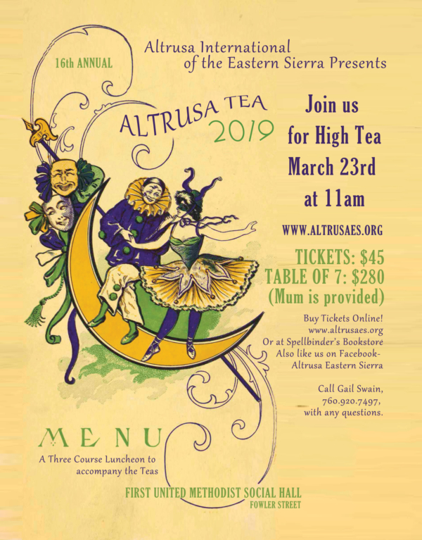 Altrusa High Tea @ First United Methodist Church | Bishop | California | United States
